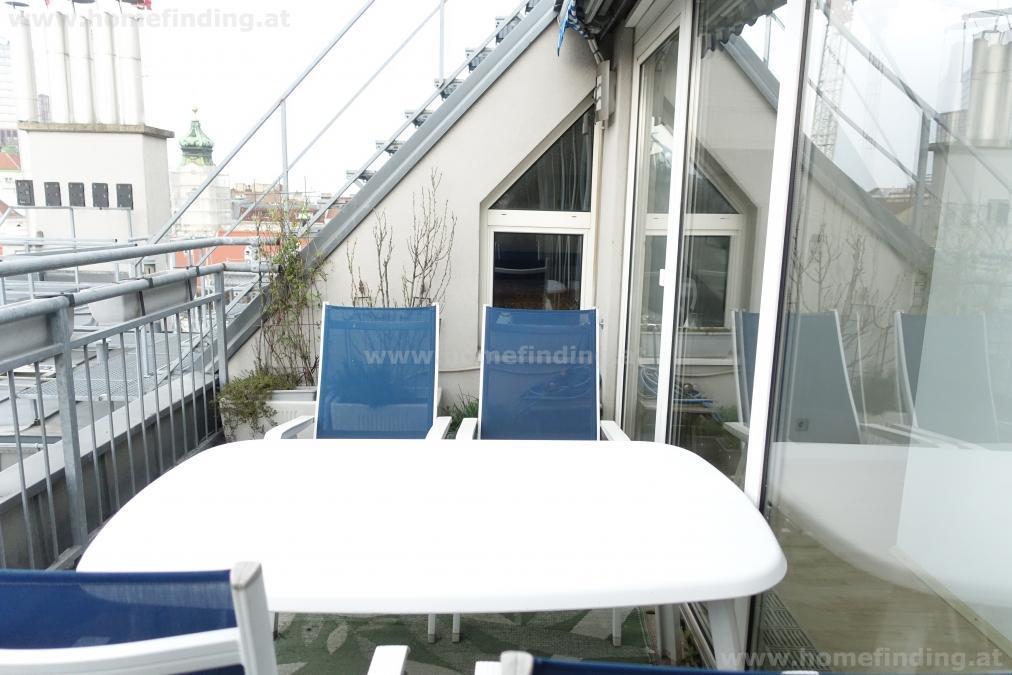 möblierte Terrassenmaisonette nahe Stadtpark - befristet