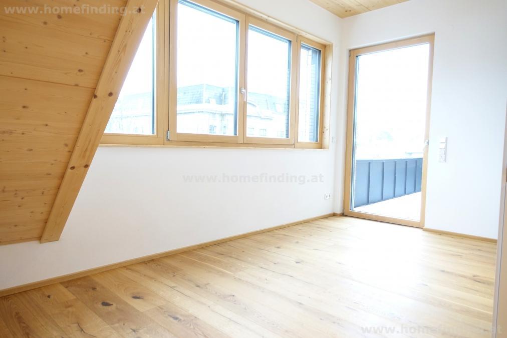 Erstbezug: Wohnen im Holzhaus I 2 Zimmer I  Balkon