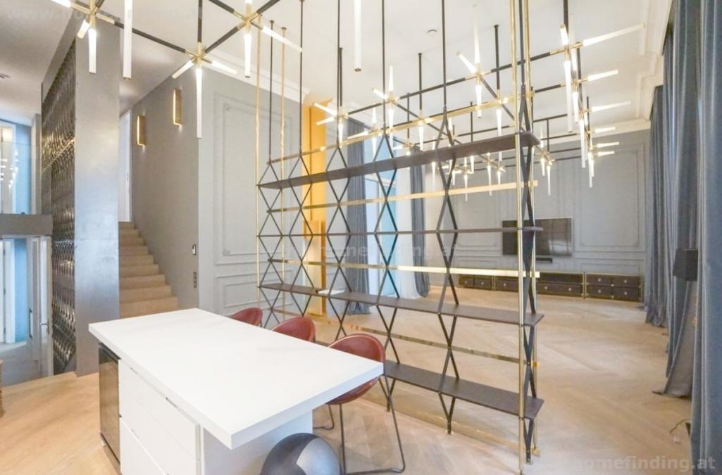 Luxus- Penthouse bei der Freyung, mit Loggia  - unbefristet
