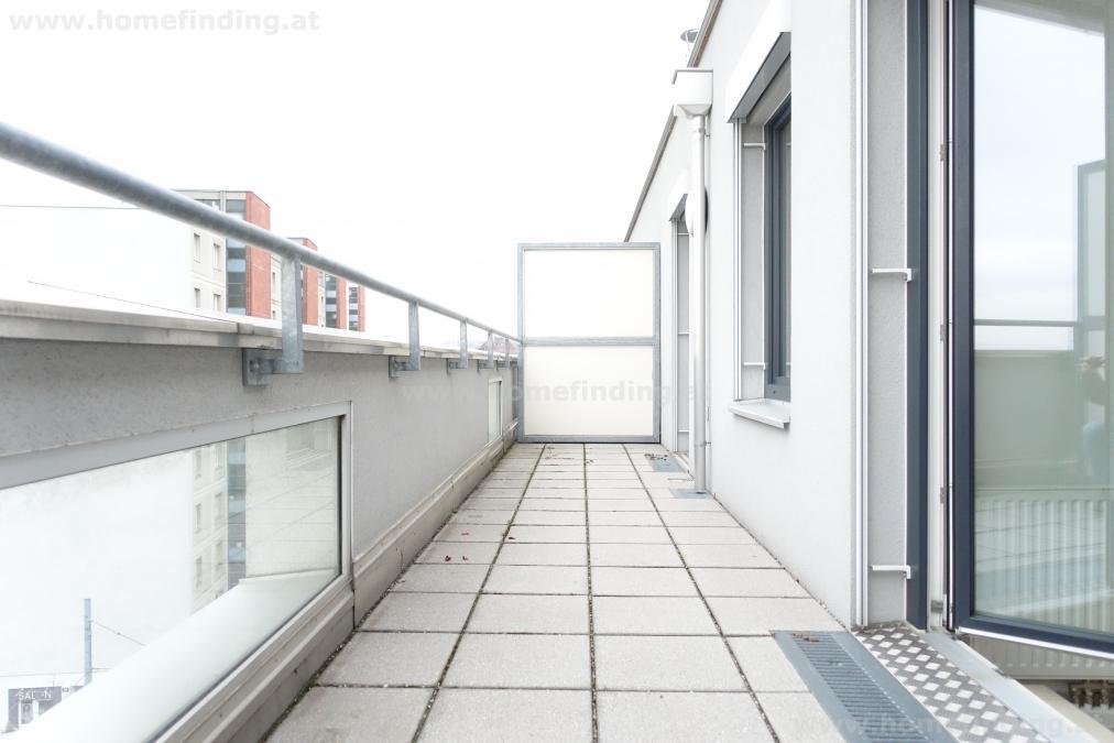 Breitensee: Terrassenwohnung mit tollem Blick - befristet