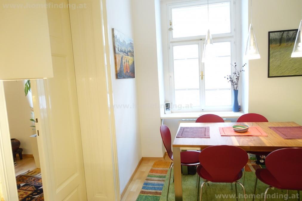 exklusiv möblierte 2-Zimmerwohnung nahe Rathaus - befristet