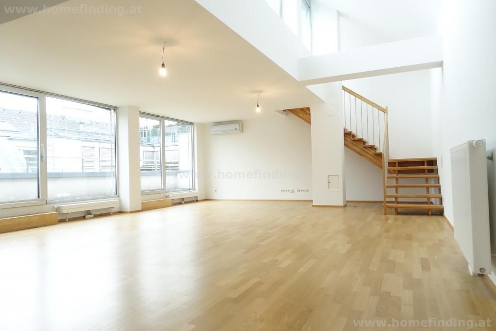 exklusives Terrassen-Penthouse im Herzen Wiens: 5 Jahre befristet