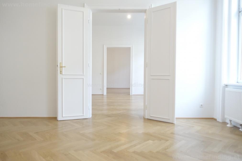 nahe Schubertpark: 4 Zimmer - Altbauwohnung - unbefristet