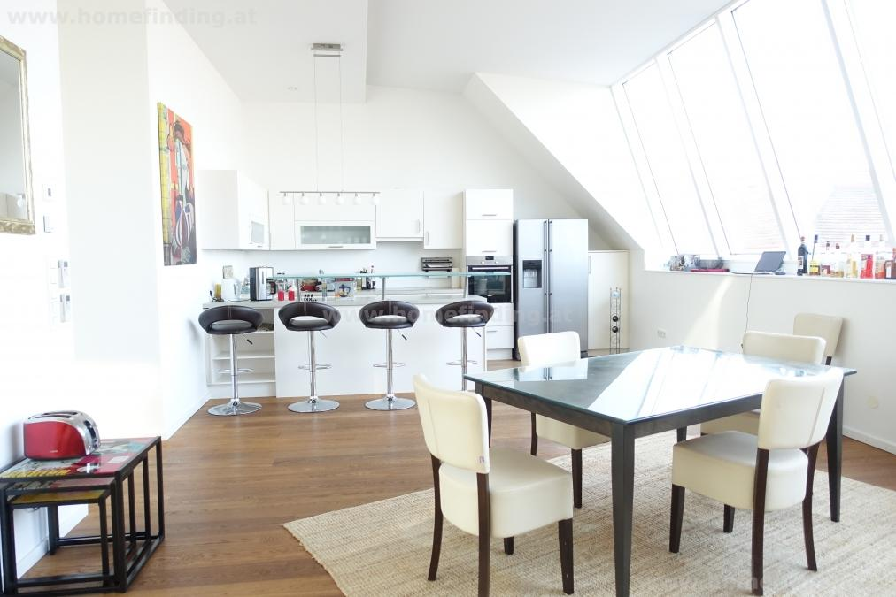 Luxurious penthouse with terrace - fully furnished