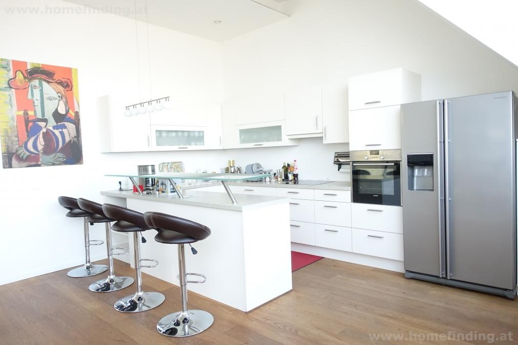 Luxus-Penthouse mit Terrasse - komplett möbliert - befristet