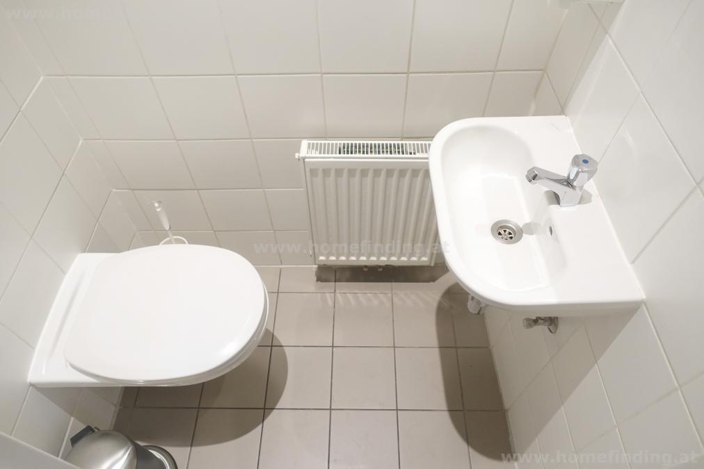 Büro: 2-Zimmer I Altbau I Klopfbalkon - unbefristet