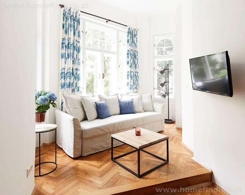 furnished 3 rooms close to Rochusmarkt