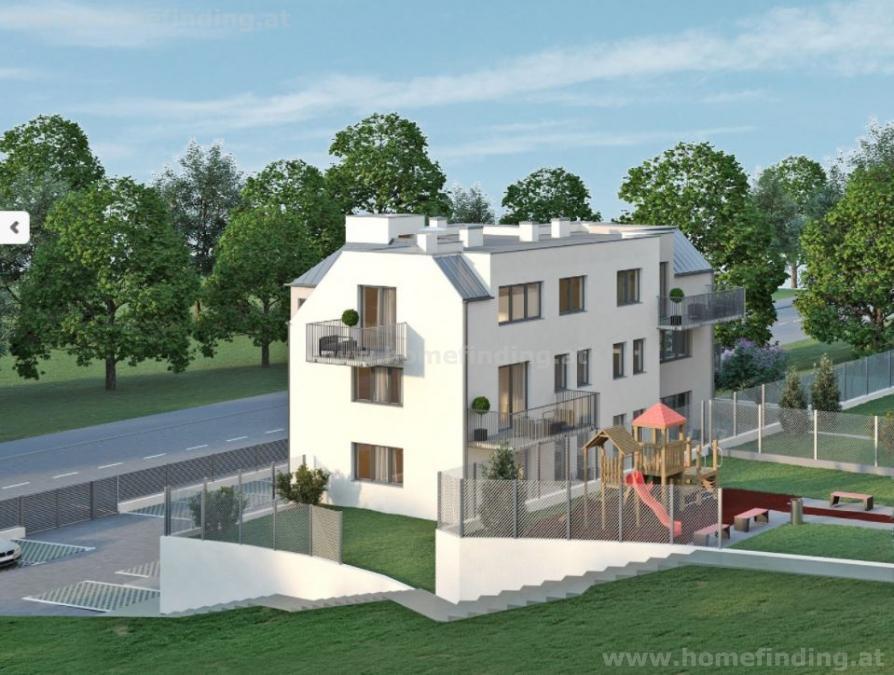 Erstbezug für Singles: Balkonwohnung im Dachgeschoß