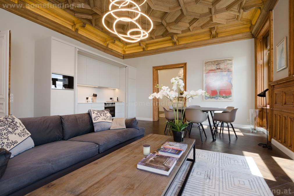 furnished: Luxury apartment with 3 bedrooms + terrace