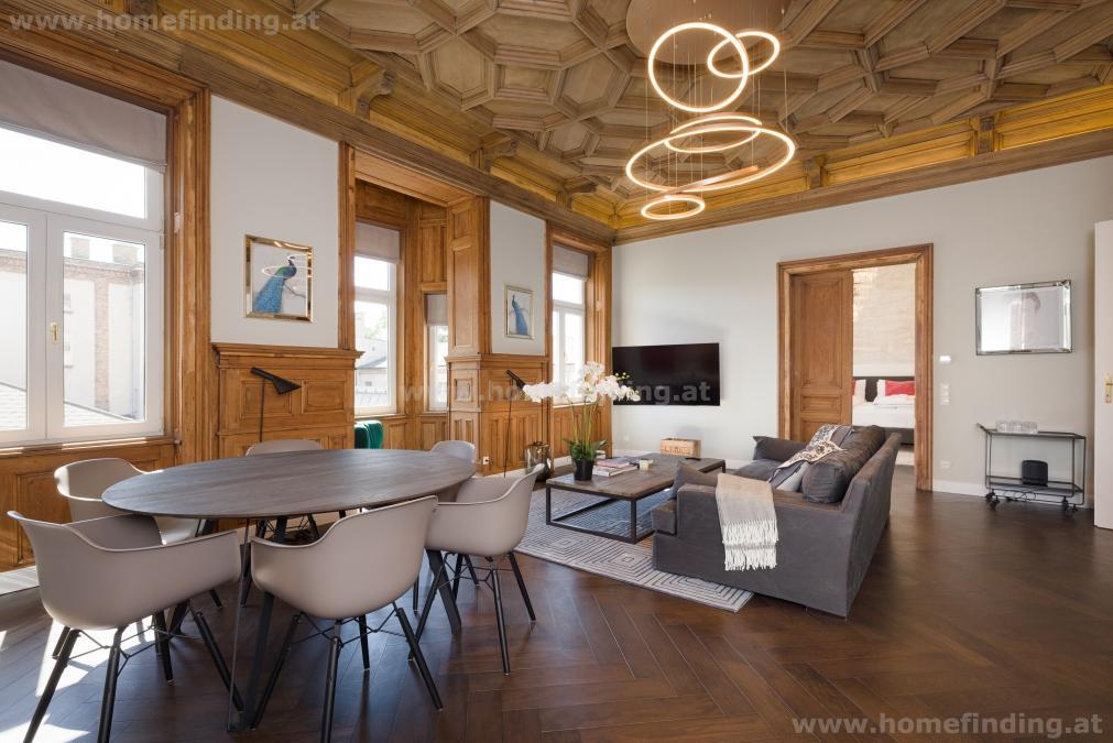 expat flat: möbliert: Luxus Apartment mit 3 Schlafzimmern + Terrasse
