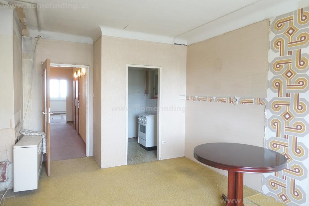 2-Zimmerwohnung beim Hannovermarkt / Brigittaplatz - renovierungsbedürftig