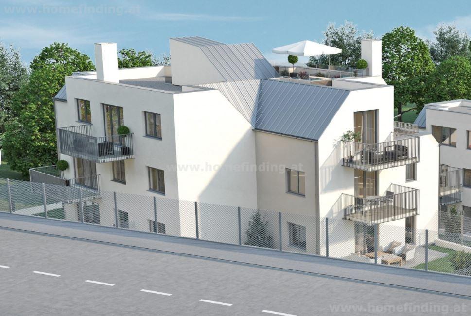 Hinterbrühl: Penthouse-Traum : 3 Schlafzimmer, Dachterrasse