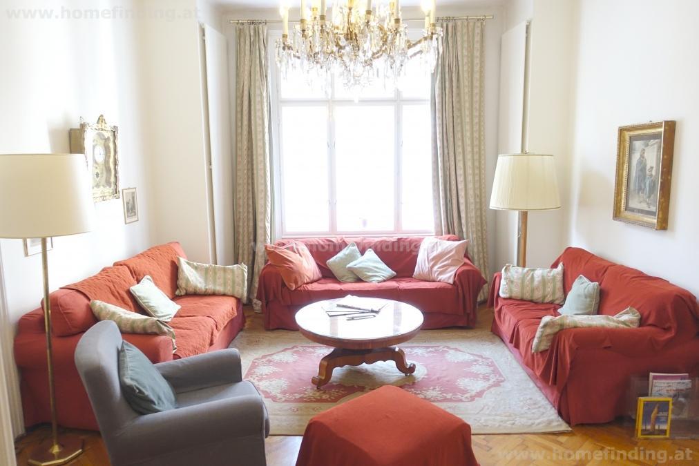 möblierte 2-Zimmer-Altbau-BALKON-Wohnung I nahe Am Hof/ Tuchlauben