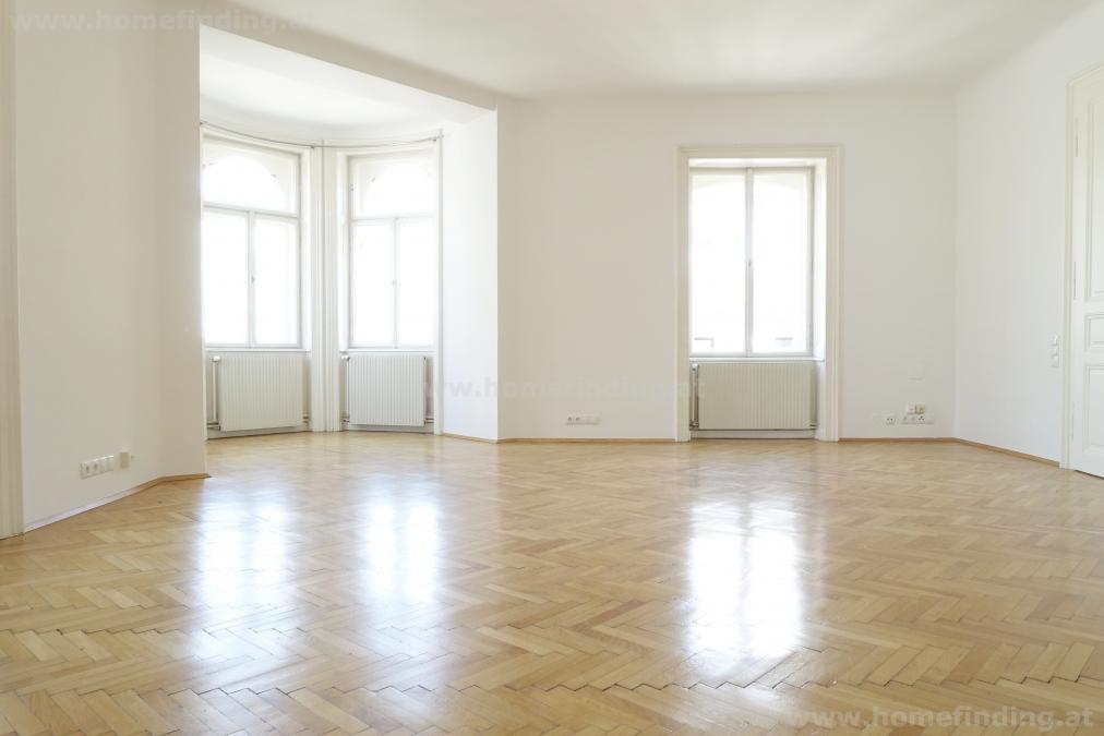 nahe Naschmarkt - geräumige 5-Zimmer-Altbauwohnung