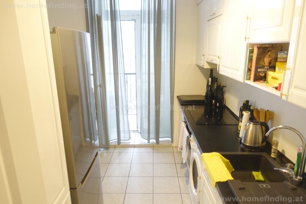 expat flat I nahe UNO-City: helle großzügige Altbauwohnung I  möbliert