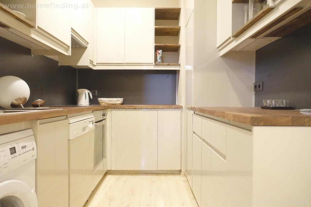 expat flat: furnished 2 rooms I möblierte 2-Zimmer beim Stadtpark - befristet