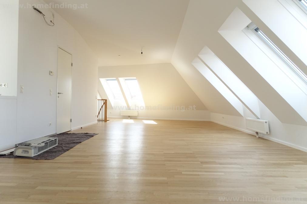 nahe Wien Mitte: Penthouse mit Terrasse - 5 Jahre befristet