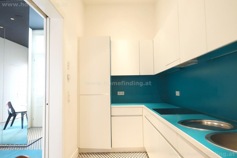 expat flat close to Wien Mitte: möblierte Architekten-Altbauwohnung