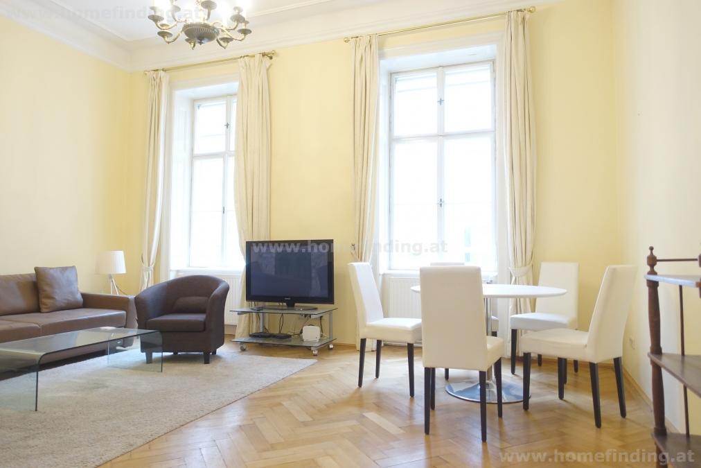 expat flat: möblierte Altbauwohnung nahe dem Parlament