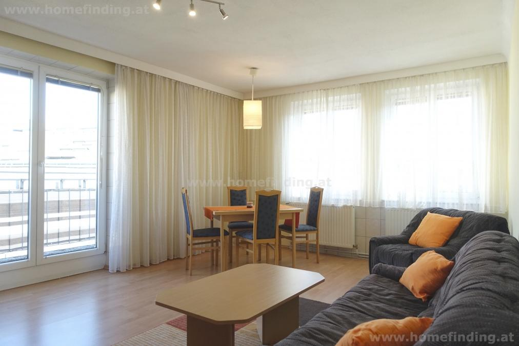 fully furnished 2 room apartment with balcony