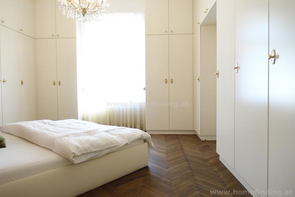 Wunderschöne  Altbauwohnung, 2 Schlafzimmer - möbliert