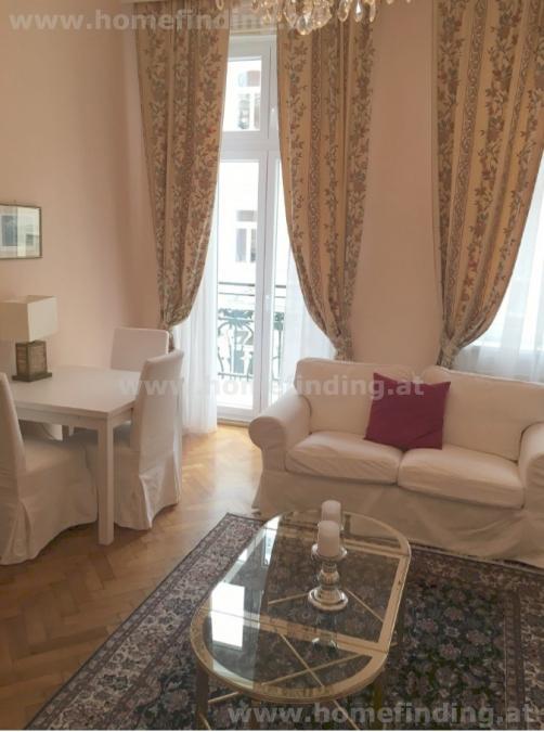möblierte 2-Zimmer-Wohnung mit Balkon