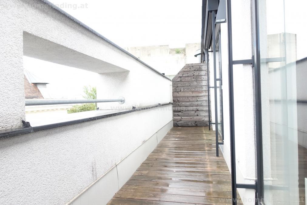 Dapontegasse: Terrassenmaisonette: 5 Jahre befristet