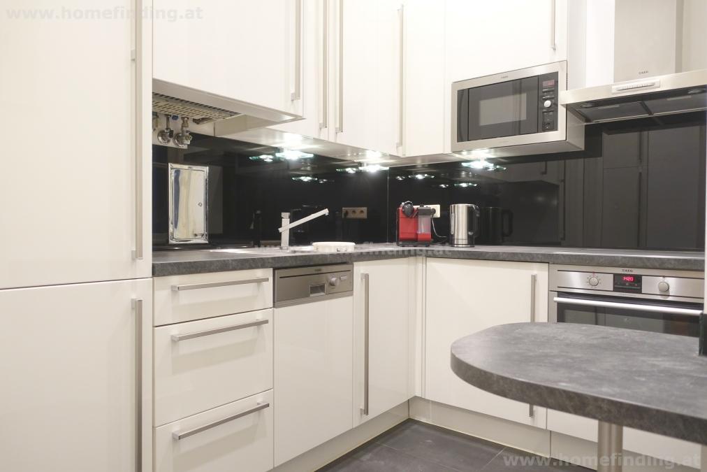 expat flat: furnished 3 rooms: I möblierte Altbauwohnung beim Parlament