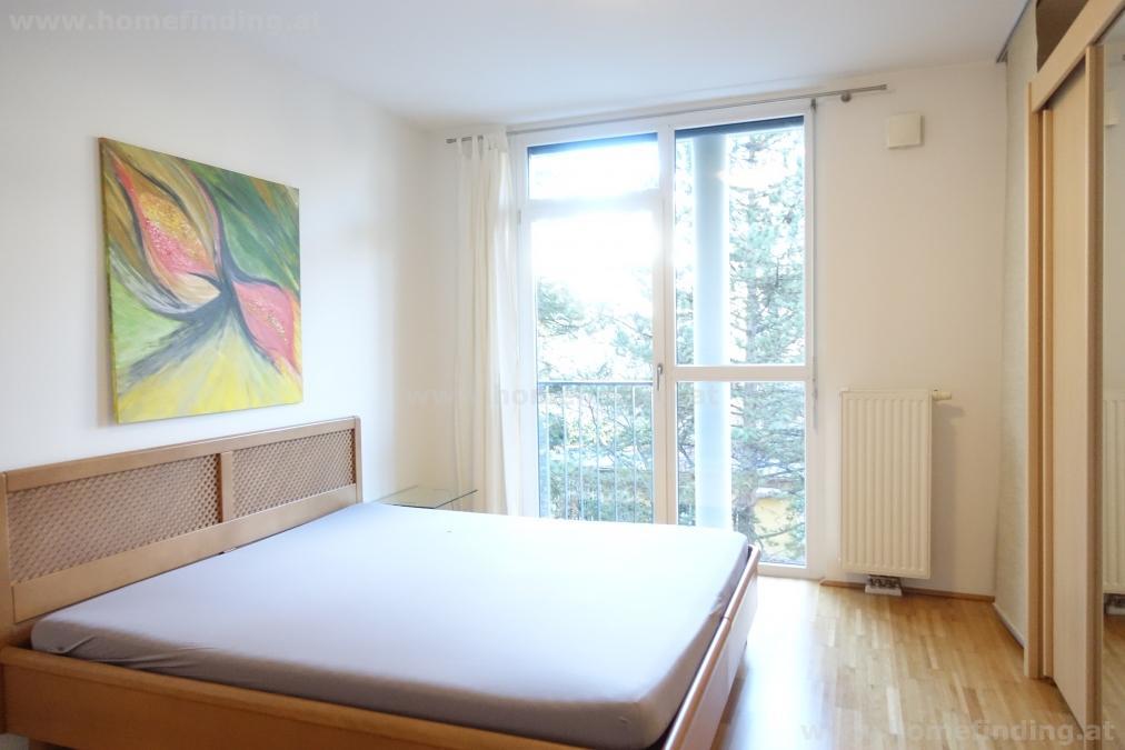 möblierte 2-Zimmer-Loggiawohnung: Karlskirche /U1