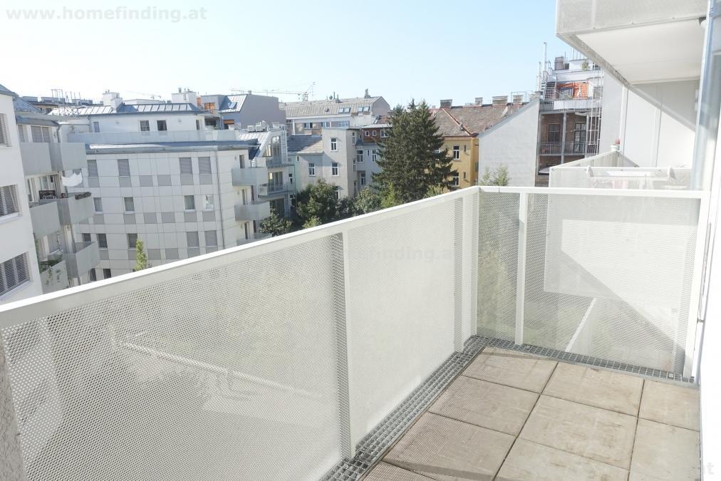 sonnige Pärchenwohnung: südseitig mit Balkon - befristet