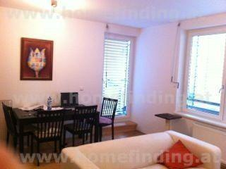 Furnished apartment with balcony in 7th district