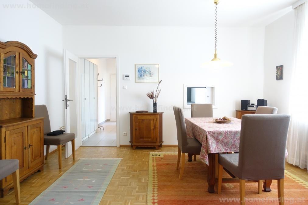 Sieveringer Straße: möblierte 3 Zimmerwohnung - befristet