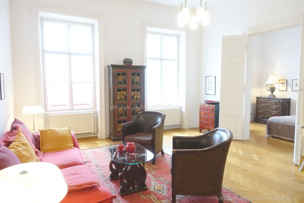 expat flat: möblierte Altbauwohnung nahe Stadtpark