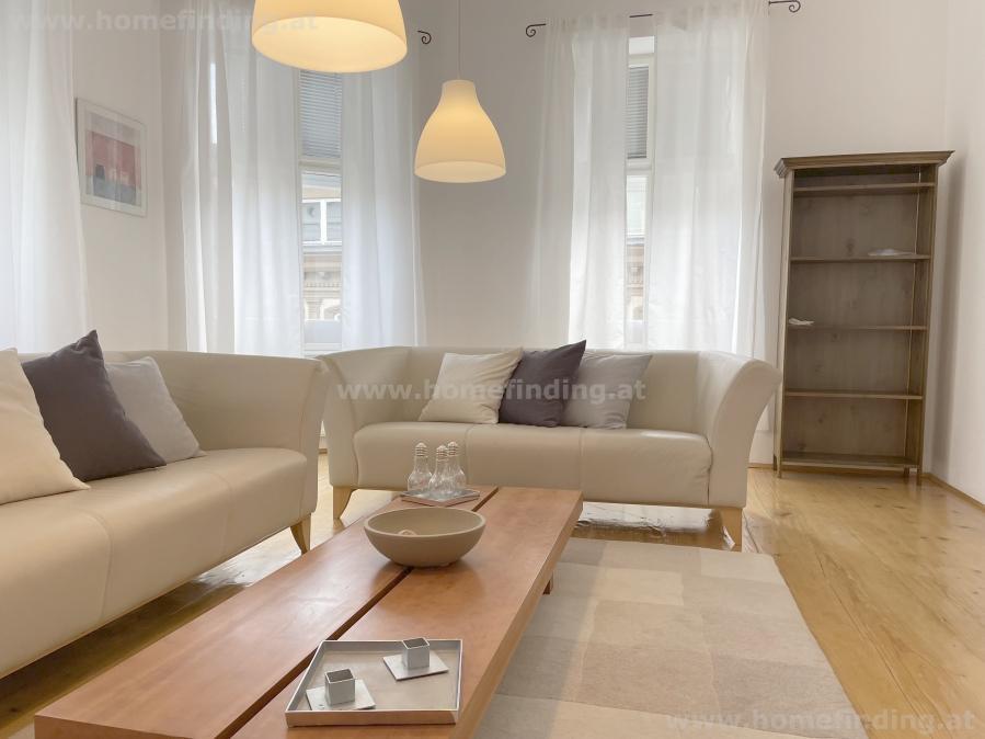 expat flat: möblierte 4-Zimmerwohnung  nahe Mariahilfer Straße
