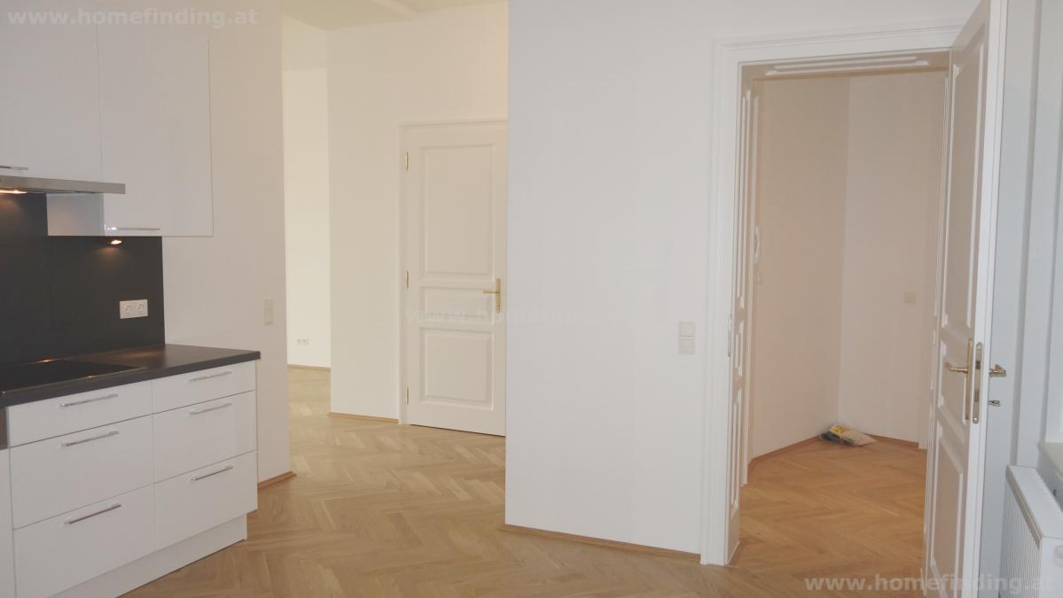 beim Nachschmarkt: sanierte Altbauwohnung - 3 Zimmer - unbefristet