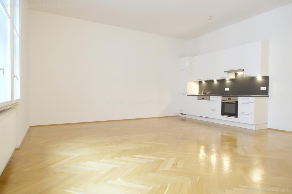 great refurbished flat: 3 rooms at Naschmarkt