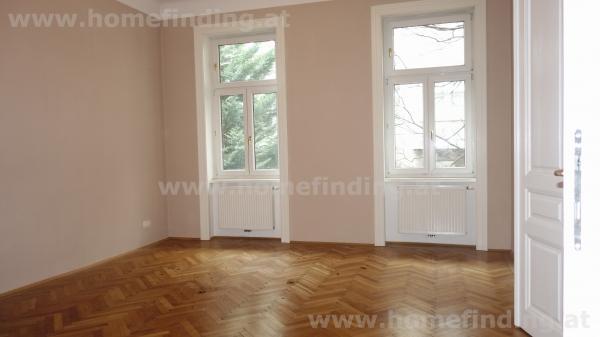 Schelleingasse: ruhige 3-Zimmer-Altbauwohnung