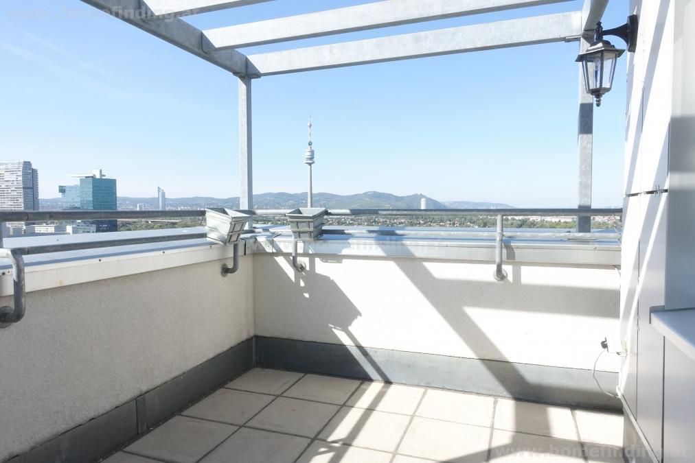 Terrassenwohnung bei der Alten Donau/ UNO-City - befristet