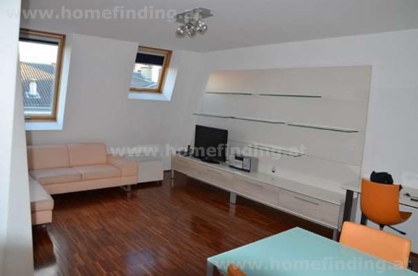 Möbliertes DG-Apartment  nahe Belvedere