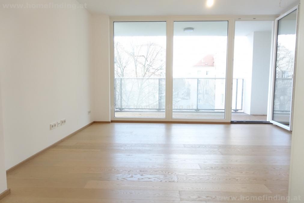 luxuriöse 2-Zimmerwohnung mit Loggia + Garage