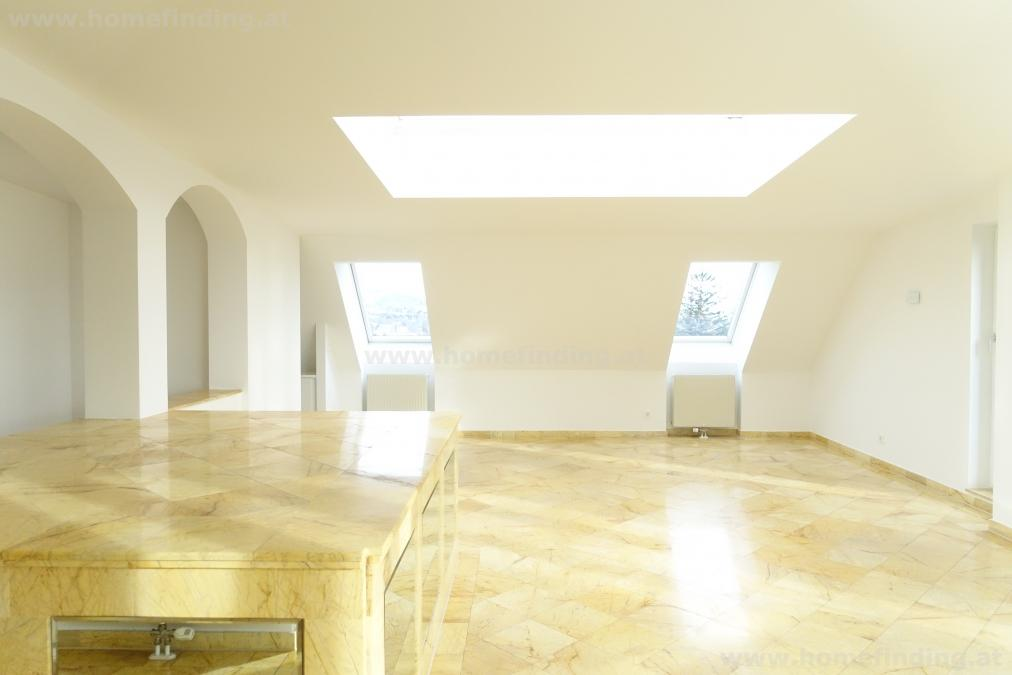 helles Penthouse mit schönem Blick - 5 Zimmer, 2x Balkon