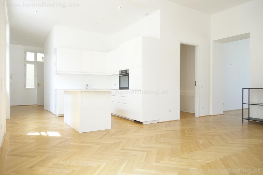 ruhige 4-Zimmer-Altbauwohnung nahe Praterstraße - befristet