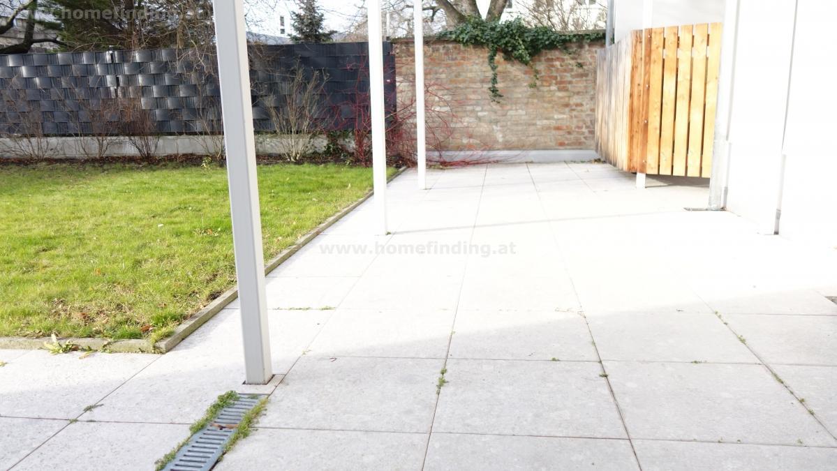 Erstbezug: großzügige Gartenwohnung in Unterbaumgarten