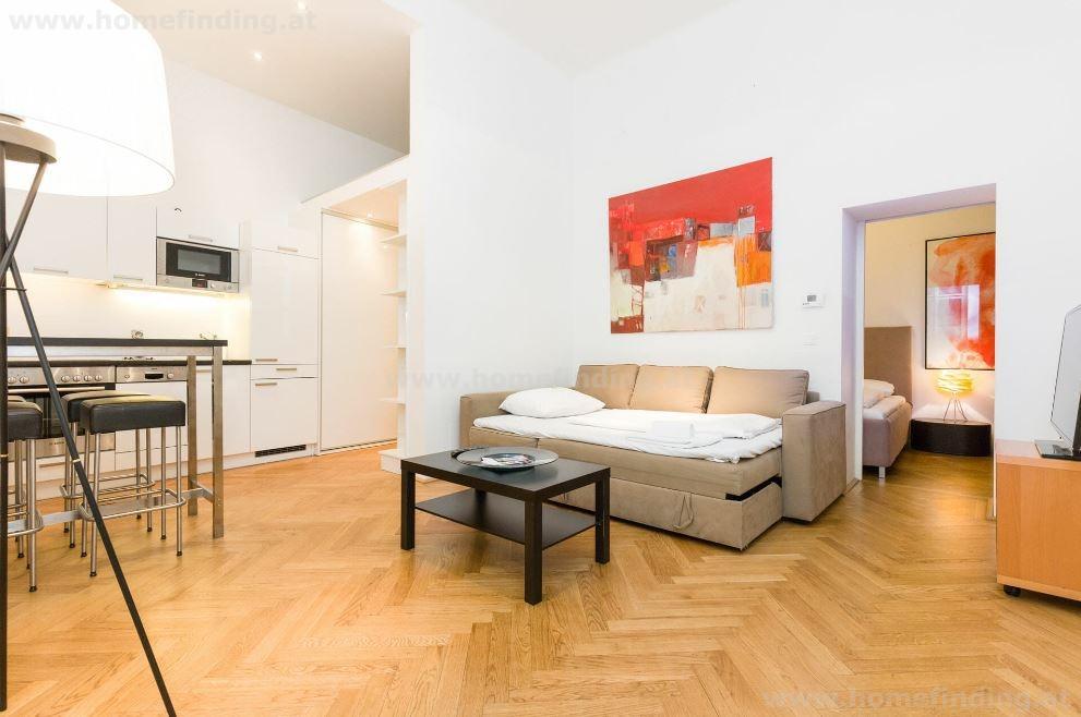 Furnished 2-room apartment at Graben