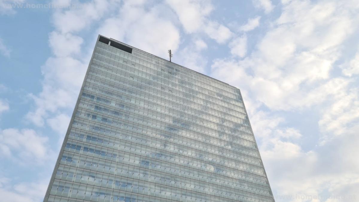 modernes Büro bei der Uno City