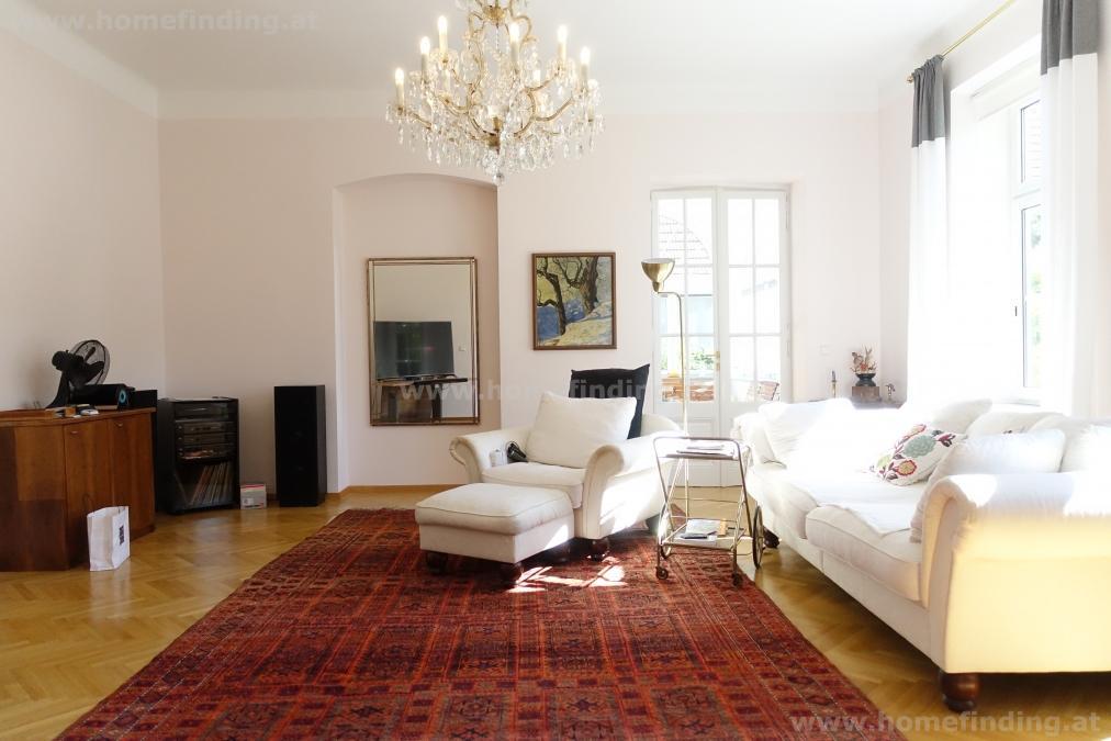 sonnige Altbauwohnung mit Wintergarten + Gartenbenützung