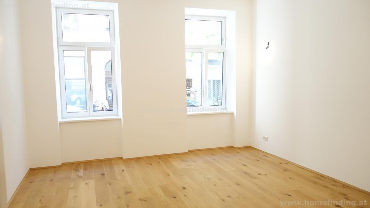 first time use: refurbished old style apartment