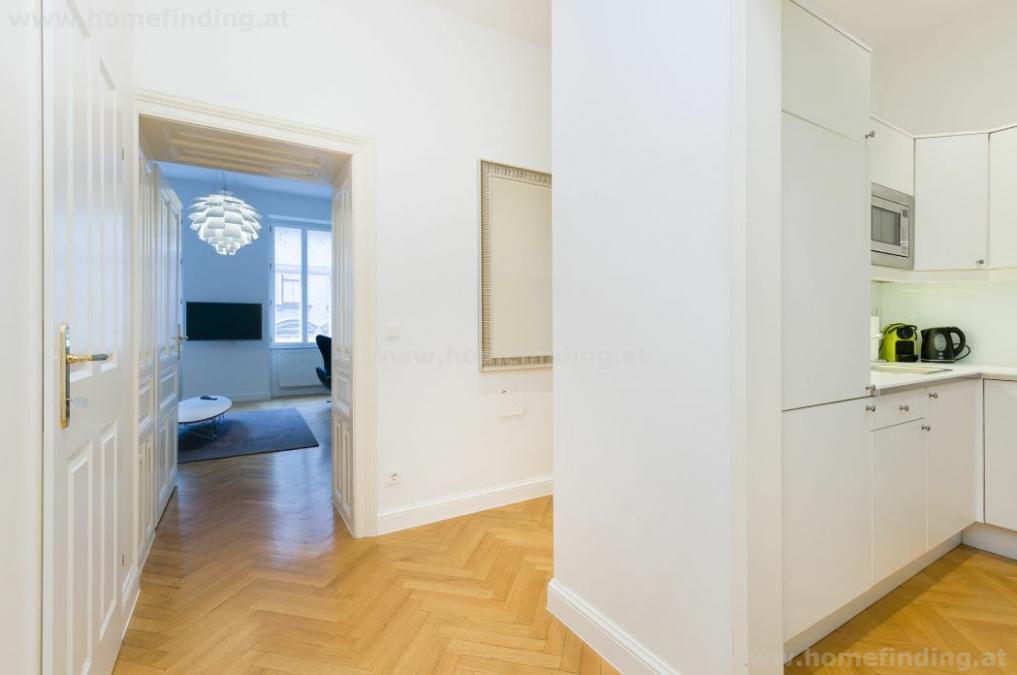 Möbliert: 3 Zimmerwohnung nähe Döblinger Hauptstraße