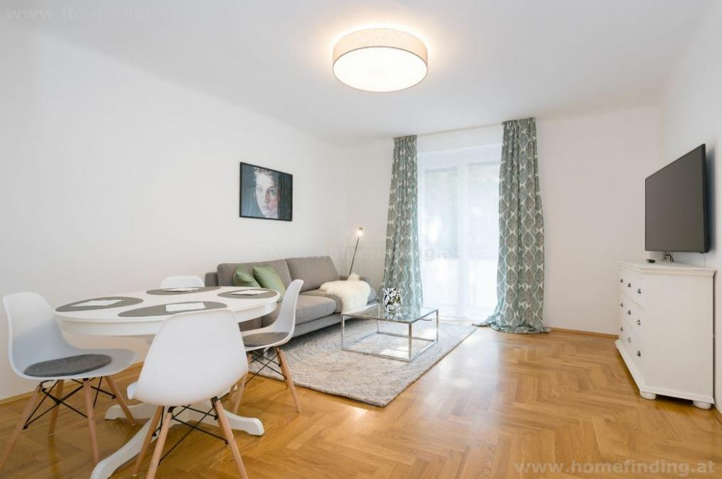 furnished: 3 rooms old style apartment with balcony