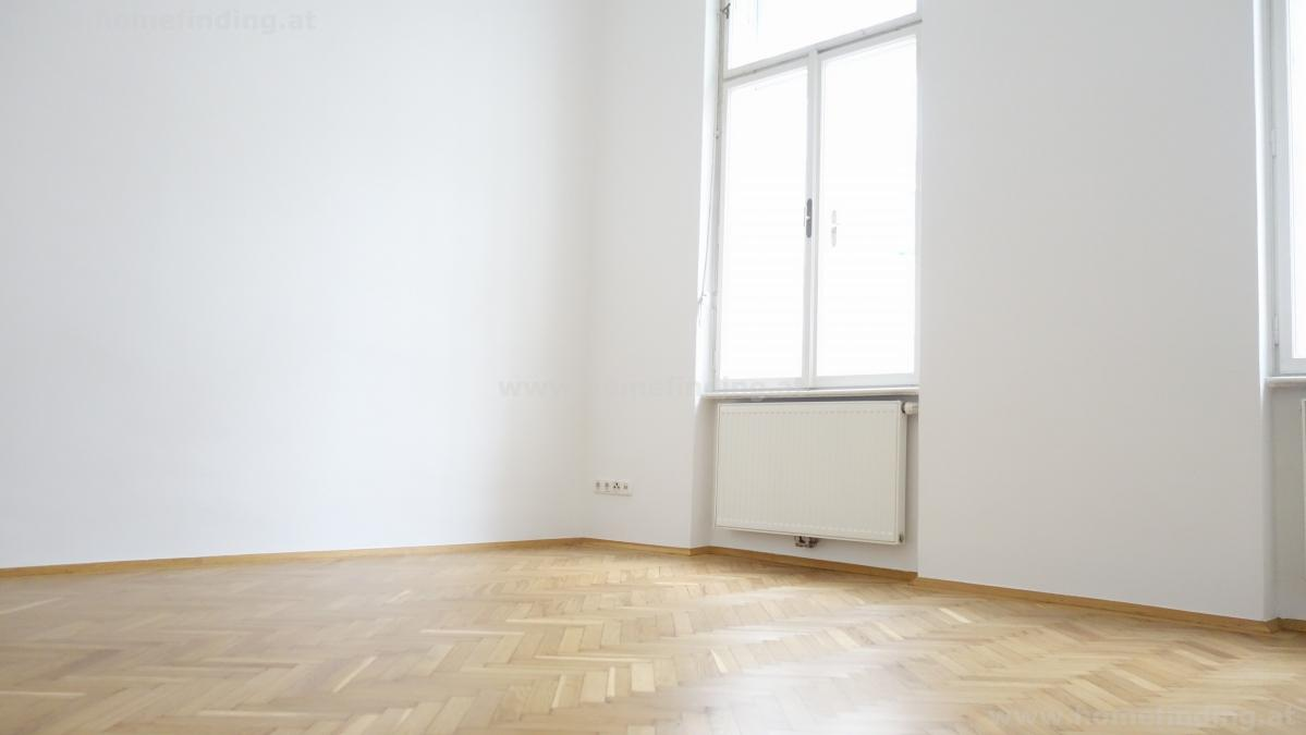 Neubaugasse: schöne 3 Zimmer-Altbauwohnung